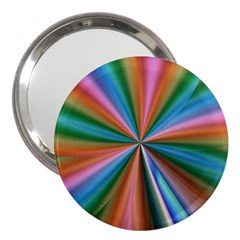 Abstract Rainbow 3  Handbag Mirrors