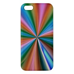 Abstract Rainbow iPhone 5S Premium Hardshell Case