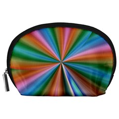 Abstract Rainbow Accessory Pouches (Large)