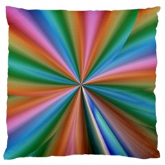Abstract Rainbow Standard Flano Cushion Cases (Two Sides)