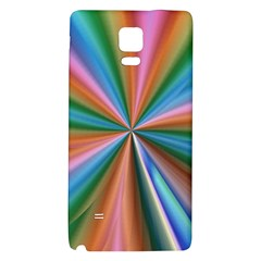 Abstract Rainbow Galaxy Note 4 Back Case
