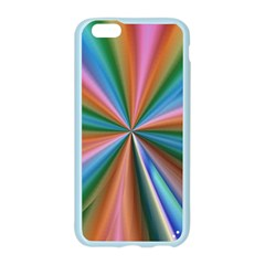 Abstract Rainbow Apple Seamless iPhone 6/6S Case (Color)