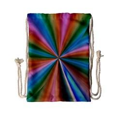 Abstract Rainbow Drawstring Bag (Small)