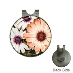 Beautiful Colourful African Daisies Hat Clips with Golf Markers