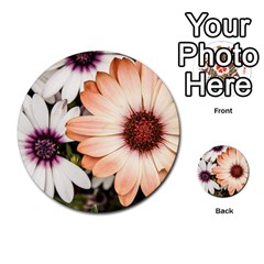 Beautiful Colourful African Daisies Multi Purpose Cards (round)