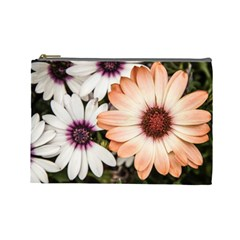 Beautiful Colourful African Daisies Cosmetic Bag (Large)