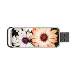 Beautiful Colourful African Daisies Portable USB Flash (Two Sides)