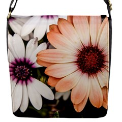 Beautiful Colourful African Daisies Flap Messenger Bag (S)