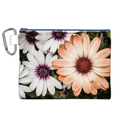 Beautiful Colourful African Daisies Canvas Cosmetic Bag (XL)