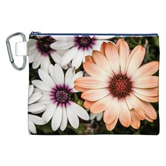 Beautiful Colourful African Daisies Canvas Cosmetic Bag (XXL)