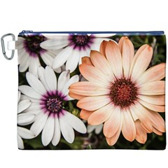 Beautiful Colourful African Daisies Canvas Cosmetic Bag (XXXL)