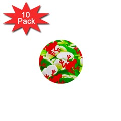 Box of Frogs  1  Mini Buttons (10 pack)
