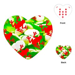 Box of Frogs  Playing Cards (Heart)