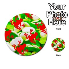 Box Of Frogs  Multi Purpose Cards (round)