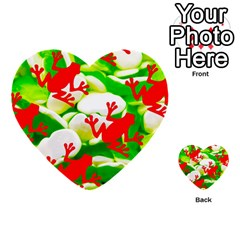 Box Of Frogs  Multi Purpose Cards (heart)