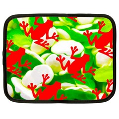 Box of Frogs  Netbook Case (XXL)