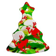 Box Of Frogs  Christmas Tree Ornament (2 Sides)