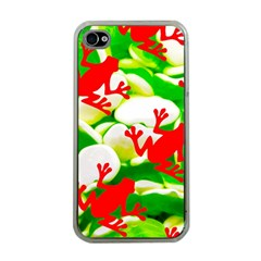 Box of Frogs  Apple iPhone 4 Case (Clear)
