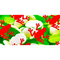 Box of Frogs  YOU ARE INVITED 3D Greeting Card (8x4)