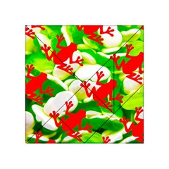 Box Of Frogs  Acrylic Tangram Puzzle (4  X 4 )
