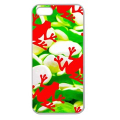 Box of Frogs  Apple Seamless iPhone 5 Case (Clear)