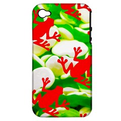 Box of Frogs  Apple iPhone 4/4S Hardshell Case (PC+Silicone)