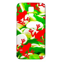 Box of Frogs  Samsung Galaxy S5 Back Case (White)