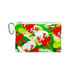 Box of Frogs  Canvas Cosmetic Bag (S)