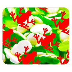 Box Of Frogs  Double Sided Flano Blanket (small)