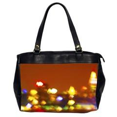 City lights Office Handbags (2 Sides)