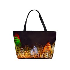 NYC lights Shoulder Handbags