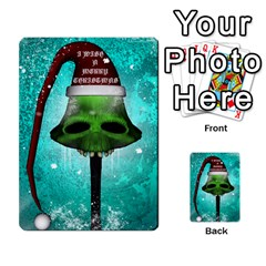 I Wish You A Merry Christmas, Funny Skull Mushrooms Multi Purpose Cards (rectangle)