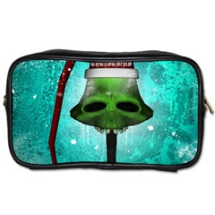 I Wish You A Merry Christmas, Funny Skull Mushrooms Toiletries Bags