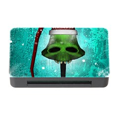 I Wish You A Merry Christmas, Funny Skull Mushrooms Memory Card Reader with CF