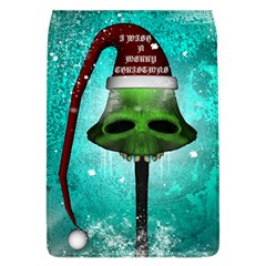 I Wish You A Merry Christmas, Funny Skull Mushrooms Flap Covers (L)