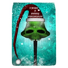 I Wish You A Merry Christmas, Funny Skull Mushrooms Flap Covers (S)