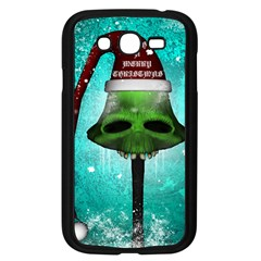 I Wish You A Merry Christmas, Funny Skull Mushrooms Samsung Galaxy Grand DUOS I9082 Case (Black)