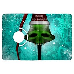 I Wish You A Merry Christmas, Funny Skull Mushrooms Kindle Fire HDX Flip 360 Case