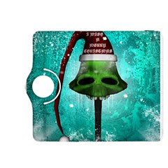 I Wish You A Merry Christmas, Funny Skull Mushrooms Kindle Fire HDX 8.9  Flip 360 Case