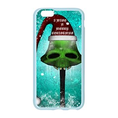 I Wish You A Merry Christmas, Funny Skull Mushrooms Apple Seamless iPhone 6/6S Case (Color)