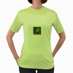 Hearthstone Update New Features Appicon 110715 Women s Green T Shirt