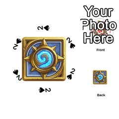 Hearthstone Update New Features Appicon 110715 Playing Cards 54 (round)