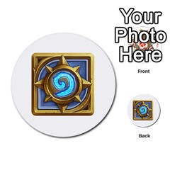 Hearthstone Update New Features Appicon 110715 Multi-purpose Cards (Round)
