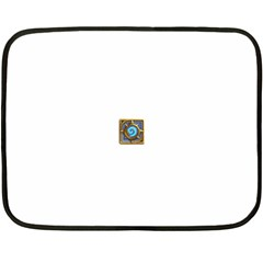 Hearthstone Update New Features Appicon 110715 Double Sided Fleece Blanket (Mini)
