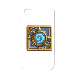 Hearthstone Update New Features Appicon 110715 Apple iPhone 4 Case (White)
