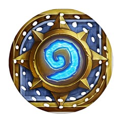 Hearthstone Update New Features Appicon 110715 Ornament (Round Filigree)