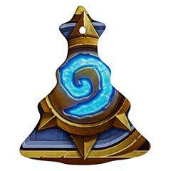 Hearthstone Update New Features Appicon 110715 Christmas Tree Ornament (2 Sides)