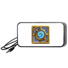 Hearthstone Update New Features Appicon 110715 Portable Speaker (Black)