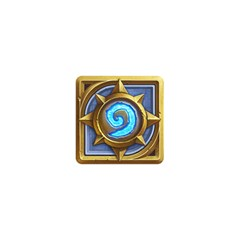 Hearthstone Update New Features Appicon 110715 Birthday Cake 3d Greeting Card (7x5)
