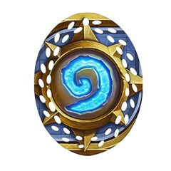 Hearthstone Update New Features Appicon 110715 Oval Filigree Ornament (2 Side)